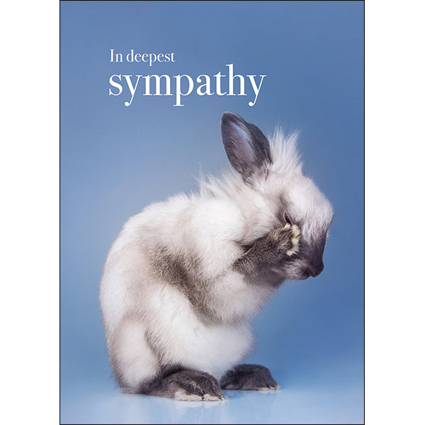 Affirmations Animal Card - In Deepest Sympathy