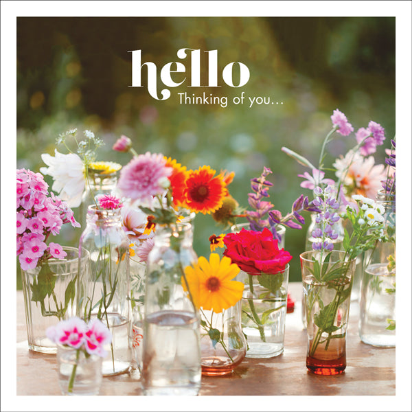Affirmations Photographic Card - Hello
