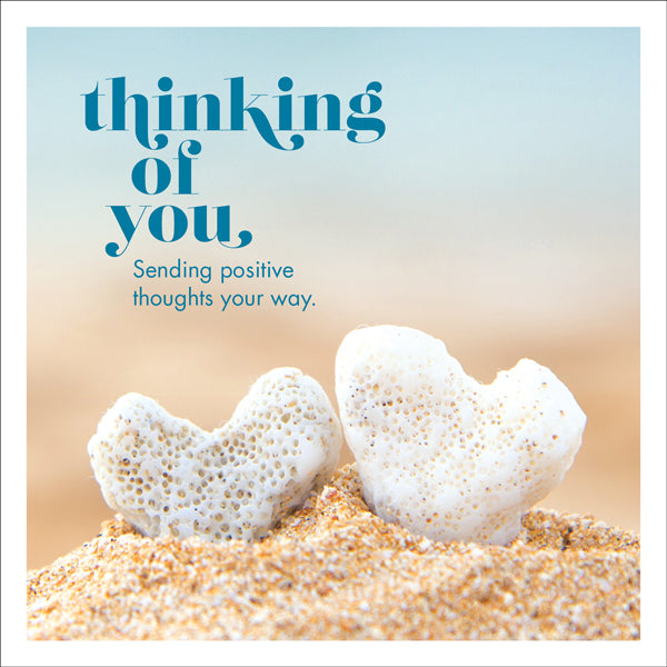 Affirmations Photographic Card - Thinking Of You