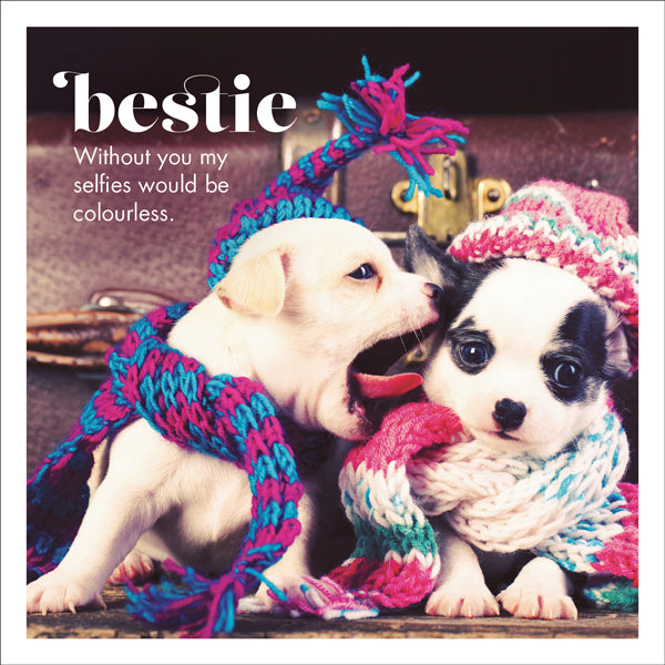 Affirmations Photographic Card - Bestie