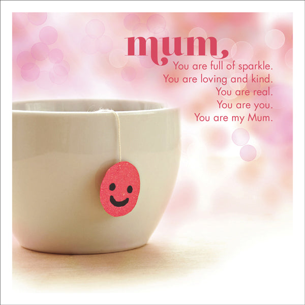 Affirmations Photographic Card - Mum