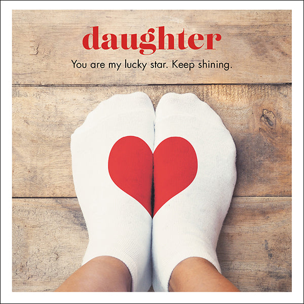 Affirmations Photographic Card - Daughter