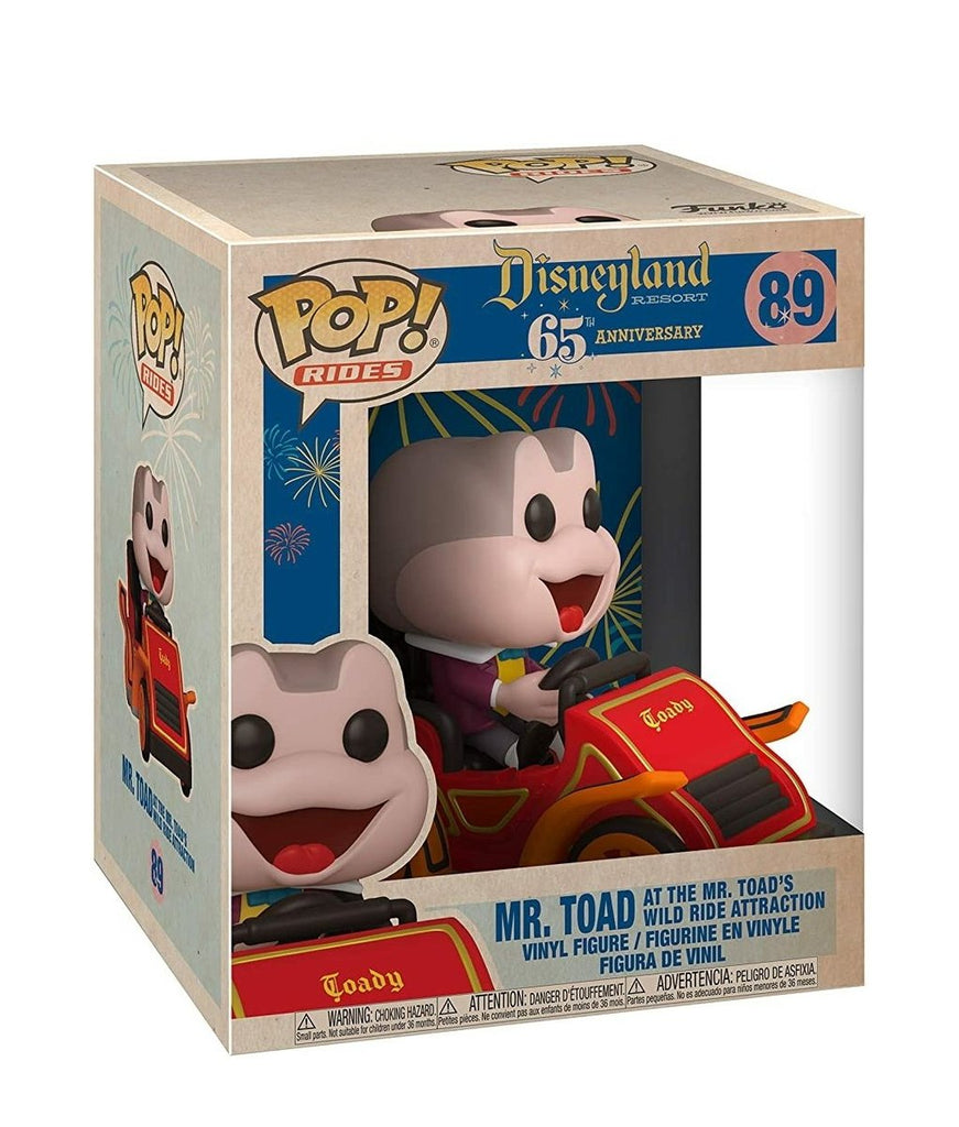 Disneyland 65th Anniversary - Mr Toad in Car - Ride - #89 - Pop! Vinyl