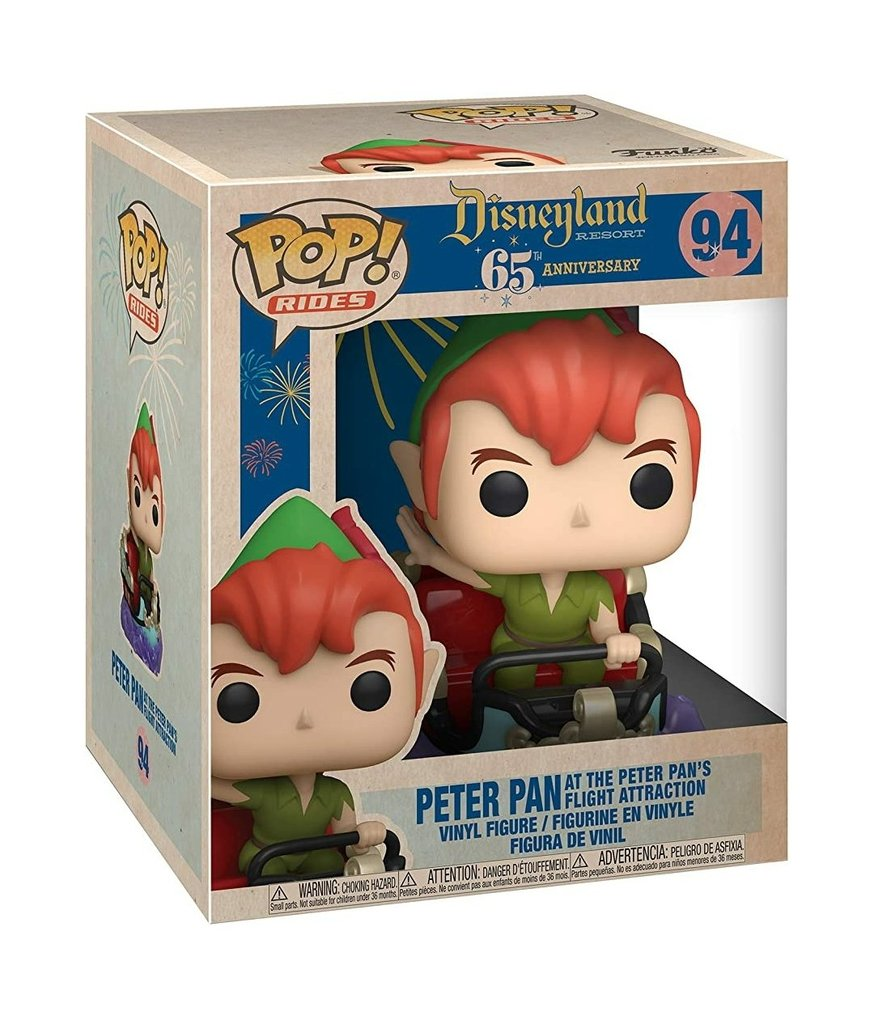 Disneyland 65th Anniversary - Peter & Flight - Ride - #NA - Pop! Vinyl