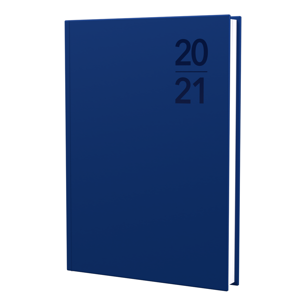 Silhouette - B7R - Week to View - Navy - 2021 Diary - Collins Debden
