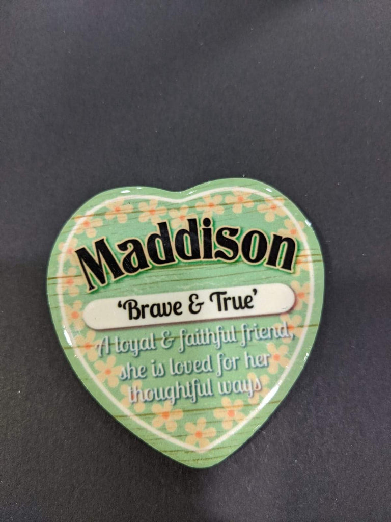 Love Heart Magnet - Maddison Brave & True