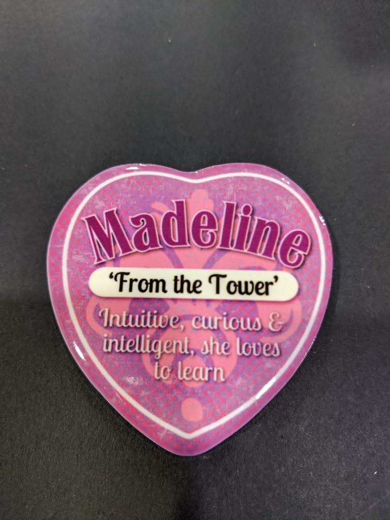 Love Heart Magnet - Madeline From the Tower