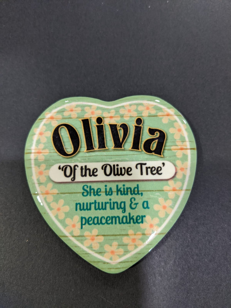 Love Heart Magnet - Olivia of the Olive Tree