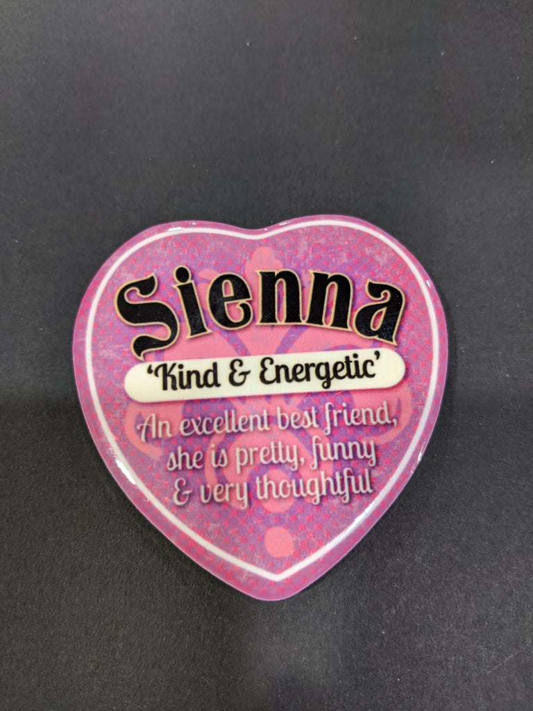 Love Heart Magnet - Sienna Kind & Energetic
