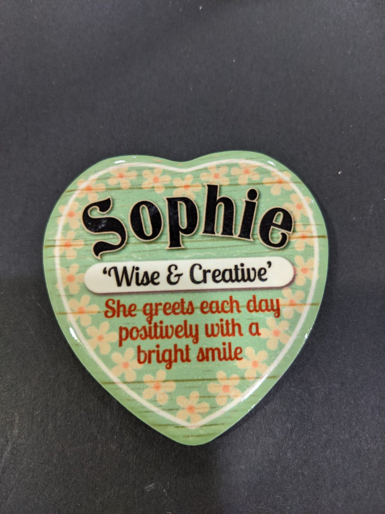 Love Heart Magnet - Sophie Wise & Creative