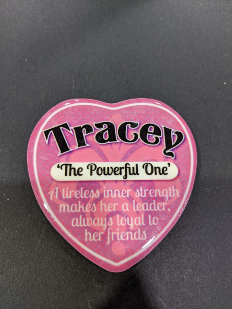 Love Heart Magnet - Tracey The Powerful One