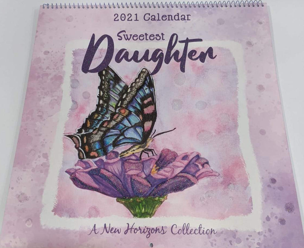 Calendar 2021 - Butterfly Daughter - Large - New Horizons
