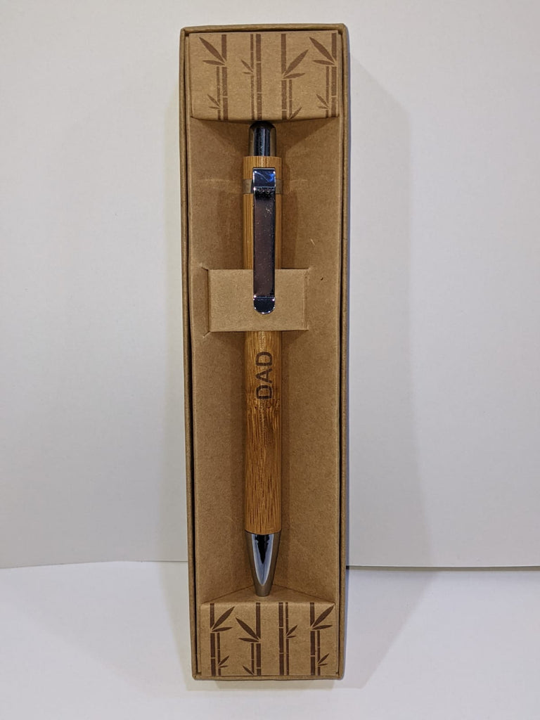 Dad - Bamboo Eco Pens - Boxed - TSK