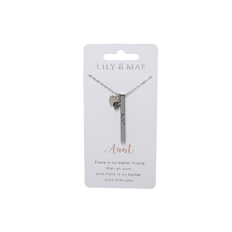Personalised Necklace - Aunt