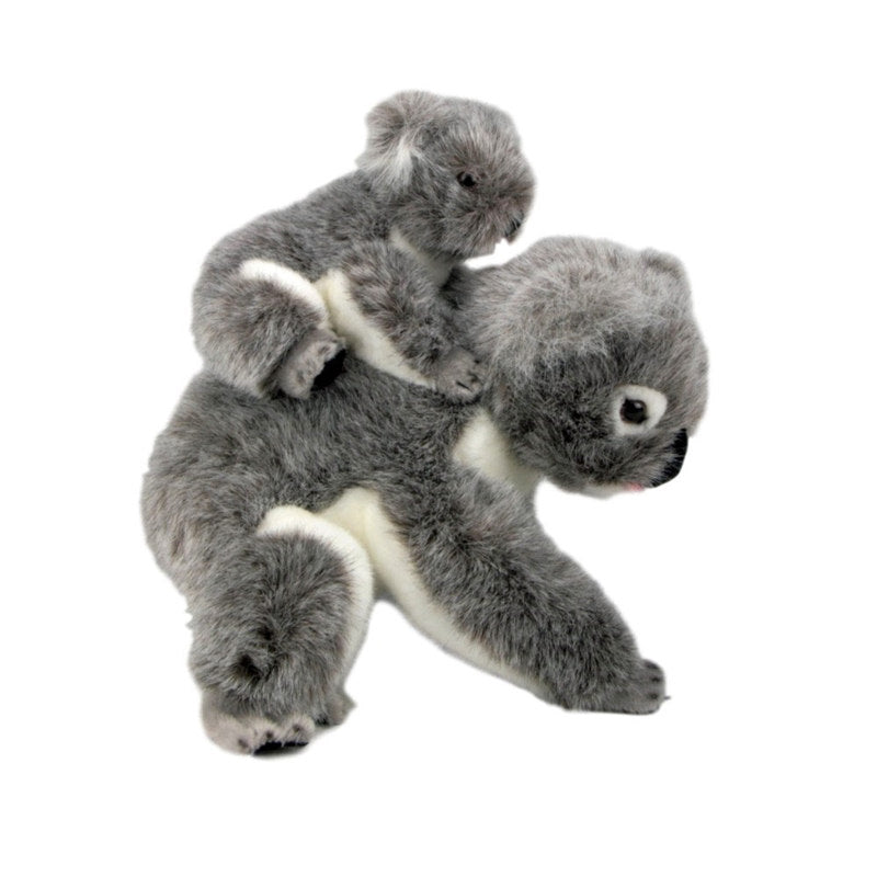 Kelly & Kiri - Koala W/Baby on Back - 23cm - Plush Animals - Bocchetta