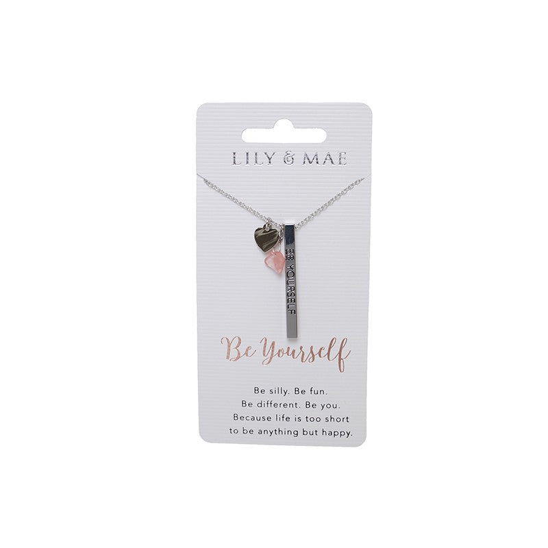 Personalised Necklace - Be Yourself