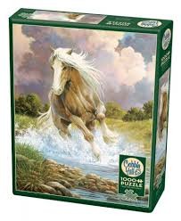 1000 Piece - River Horse - Cobble Hill - Jigsaw Puzzle