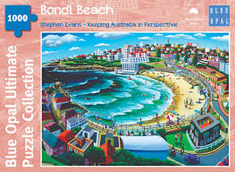 1000 Pieces - Bondi Beach - Blue Opal