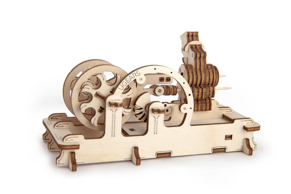 Pneumatic Engine - 81 Pieces - Ugears