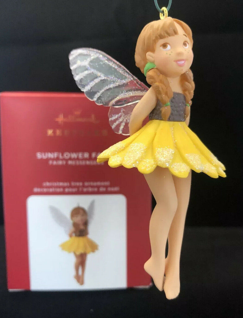 Hallmark Christmas Ornaments - 2020 - Sunflower Fairy #16