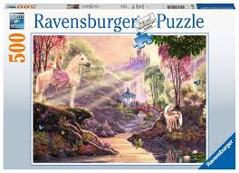 500 Pieces - The Magic River - Ravensburger Puzzle