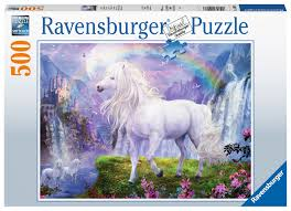 500 Pieces - Mystic Steeds - Ravensburger Puzzle