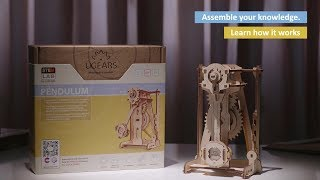 Pendulum - 92 Piece - Ugears Stem Lab