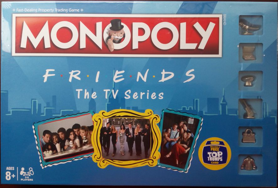 Monopoly - Friends Edition - Board Games