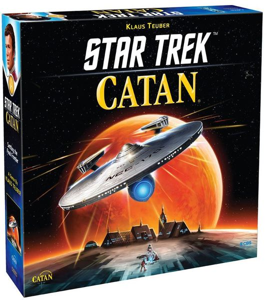 Catan - Star Trek Edition - Board Game