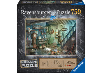 759 Pieces - Escape Room - The Forbidden Basement - Ravensburger Puzzle