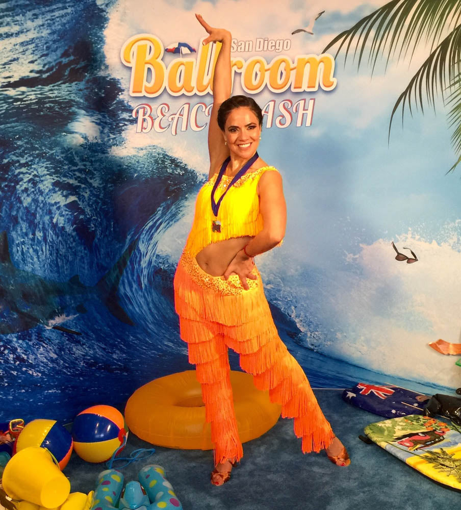 Esmeralda Gallemore SD Ballroom Beach Bash 7205