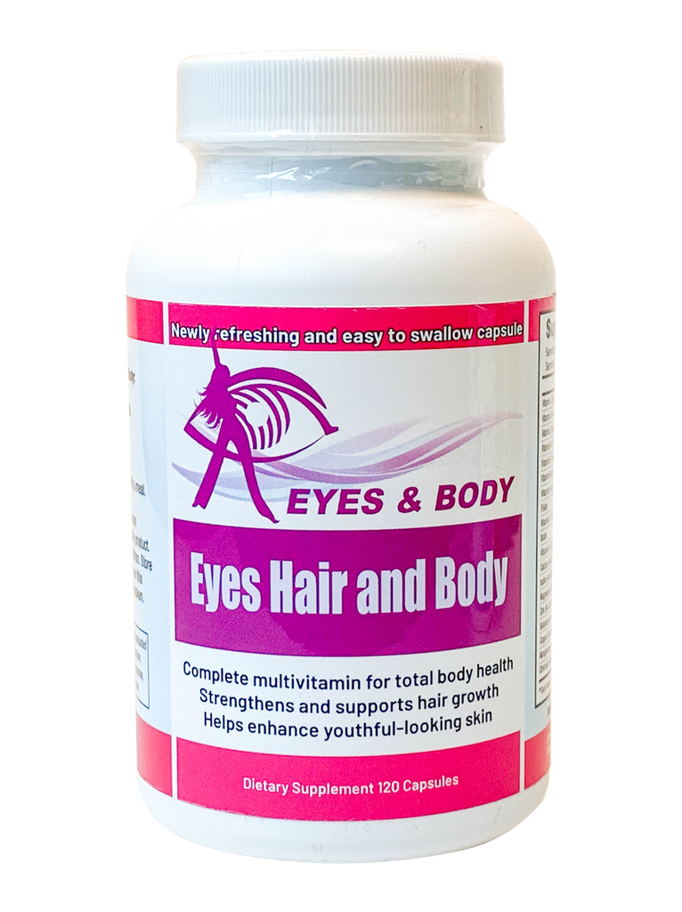 EYES HAIR & BODY