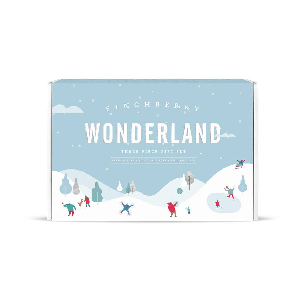 Wonderland - 3 Piece Holiday Gift Set