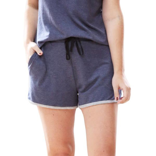 Hello Mello Short Navy