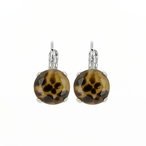 Cheetah Earrings E-1445-73R-RO6