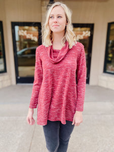 Long Sleeve Karima Cowl Tunic