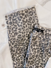 Load image into Gallery viewer, Animal Print Fringe Pants