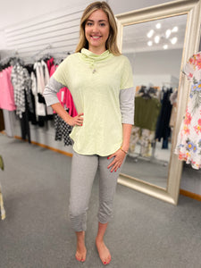 Neon Buddha Overjoyed Top Melon Twist