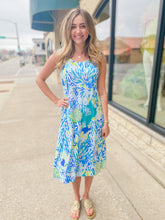 Load image into Gallery viewer, Coral Reef Printed Dress
