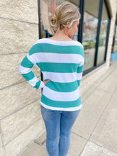 Load image into Gallery viewer, Charlie B. Caicos Stripe Knit Sweater