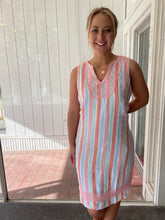 Load image into Gallery viewer, Hatley Portia Dress Sun Stripes