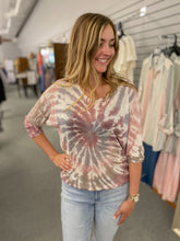 Load image into Gallery viewer, Tie Dye Dolman Sweater
