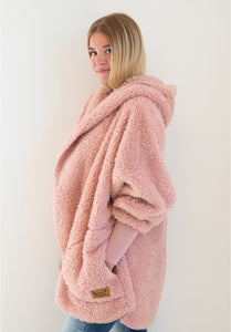 Nordic Beach Sweater - Blush Wine