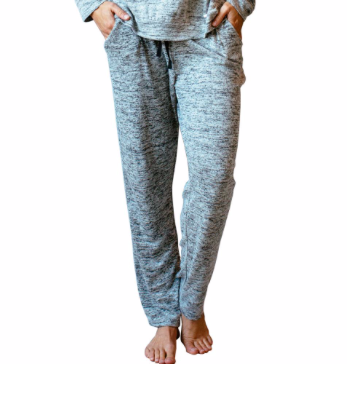 Carefree Threads Light Grey Lounge Pants