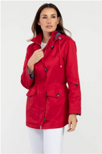 Load image into Gallery viewer, Red Detachable Hood Jacket
