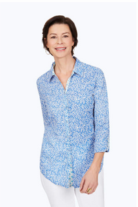 Zoey Coral Reef Creased Shirt