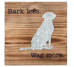 Bark Less Wooden Plaque