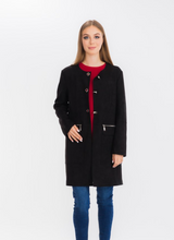 Load image into Gallery viewer, Black Roselyn Jacket