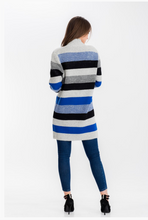 Load image into Gallery viewer, Rebecca Stripe Cardigan