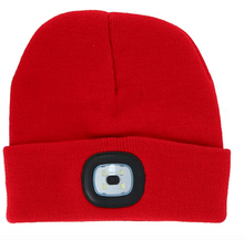 Load image into Gallery viewer, Rechargeable LED Beanie